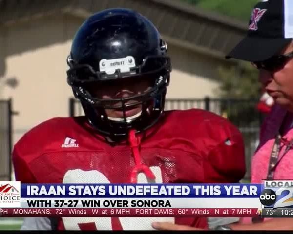 Iraan Talks Undefeated Season_70277840-159532