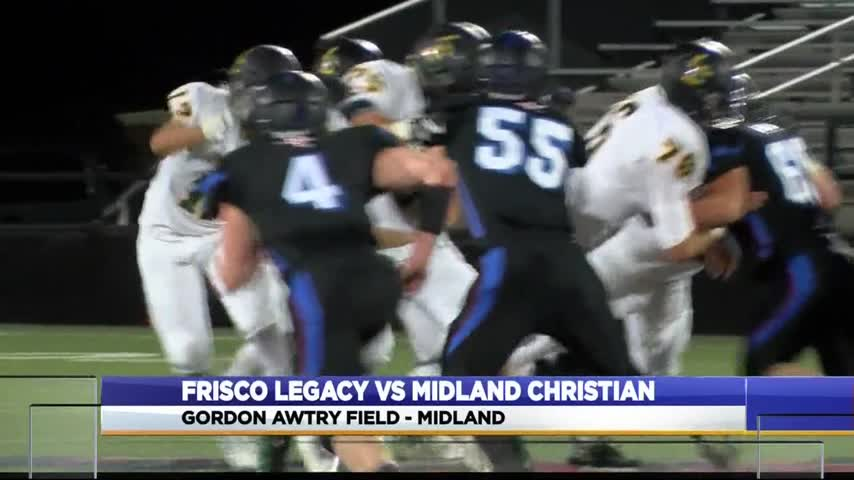Midland Christian Dominates Without Top Two QBs_14059532-159532