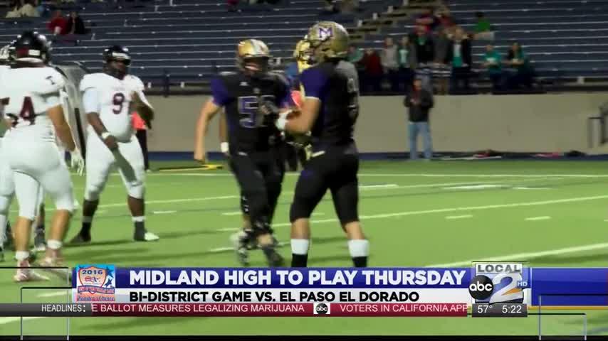 Midland High With Quick Turnaround For Playoffs_28316197-159532
