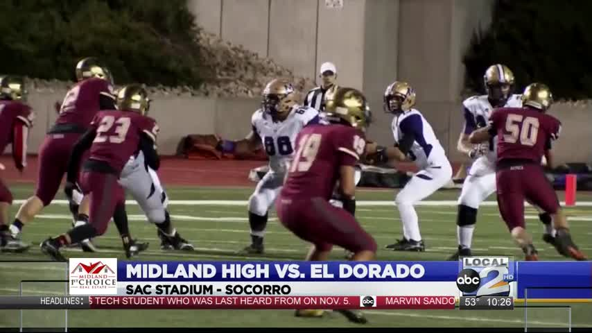 Midland High defeats El Paso El Dorado in Bi-District_43997595-159532
