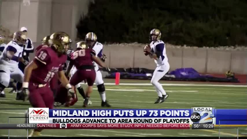 Midland High puts up 73 points in playoff win_71226081-159532