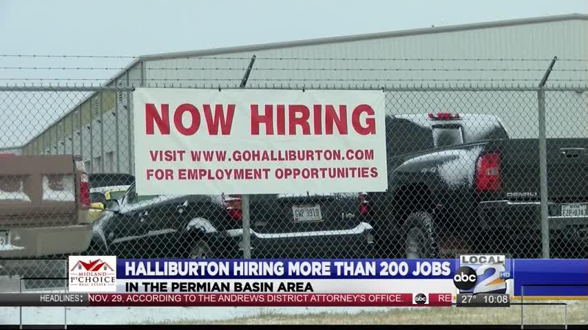 Local Halliburton Hub Hiring