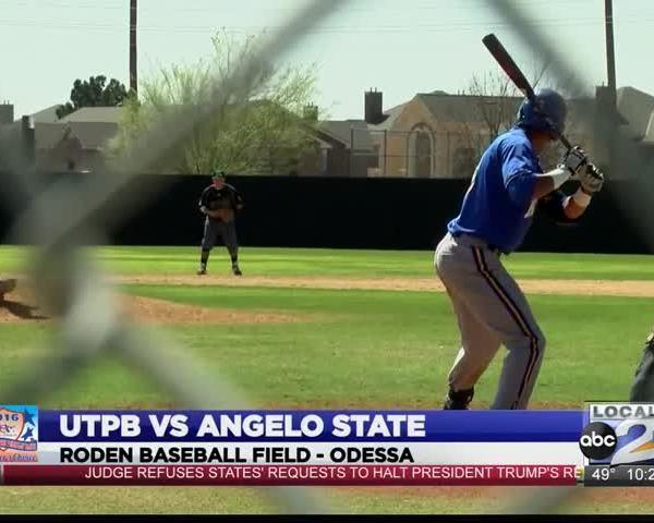 utpb baseball falls to angelo state