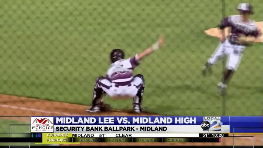 Lee Edges Midland High in Baseball Rivalry_45358490