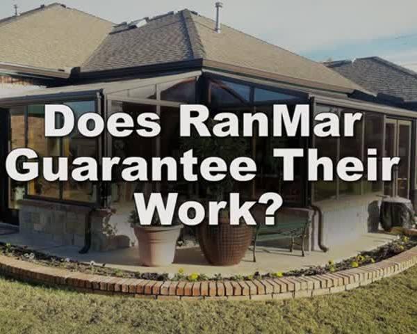 Does RanMar guarantee their work