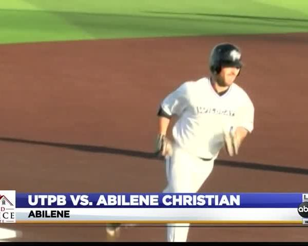 UTPB Baseball Rally Falls Short at ACU_01455631