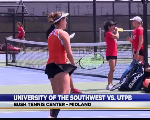 UTPB Women-s Tennis Blanks University of the Southwest_91356569