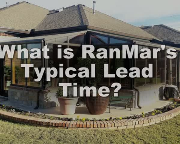 What is RanMar���s typical lead time