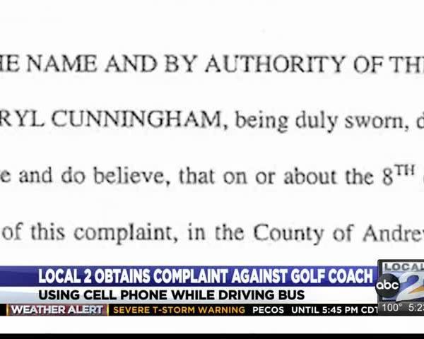 Complaint Filed Against Andrews Golf Coach Details Timeline_37439409