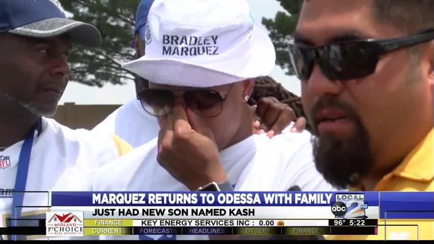Marquez Shows Son Hometown_08069522