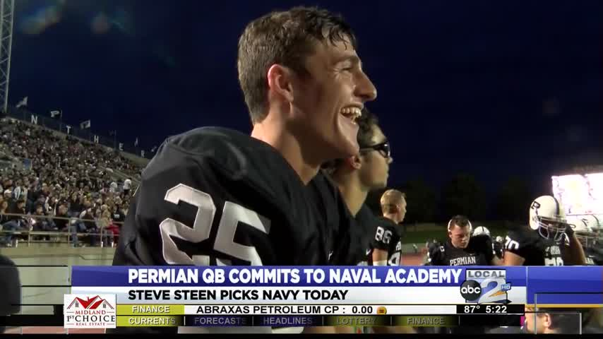 Permian QB Steve Steen Commits to Navy_63683877