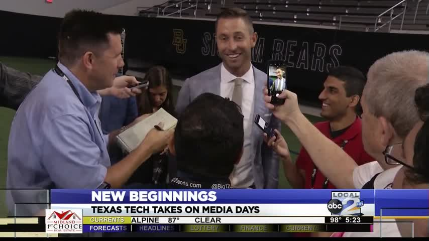 Texas Texas Talks at Big 12 Media Days_17737899