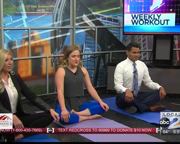Weekly Workout with Lacy J. Pilates