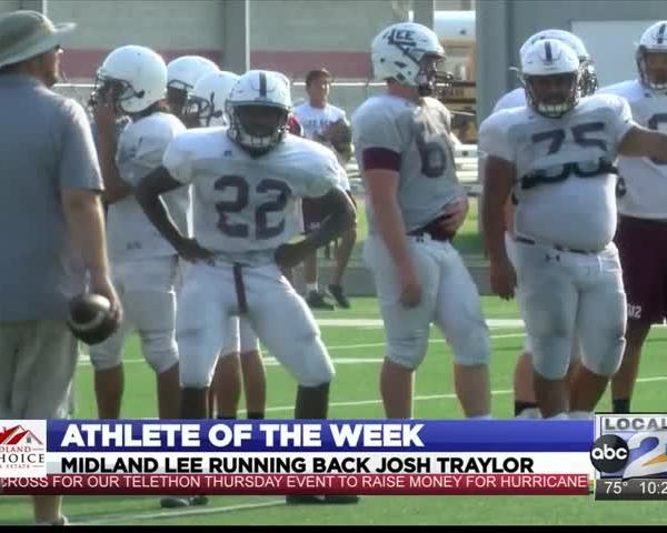 Athlete of the Week- Lee RB Josh Traylor_04698001