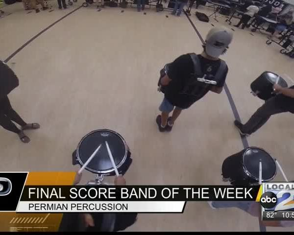 Final Score Band of the Week- Permian Percussion_26844198