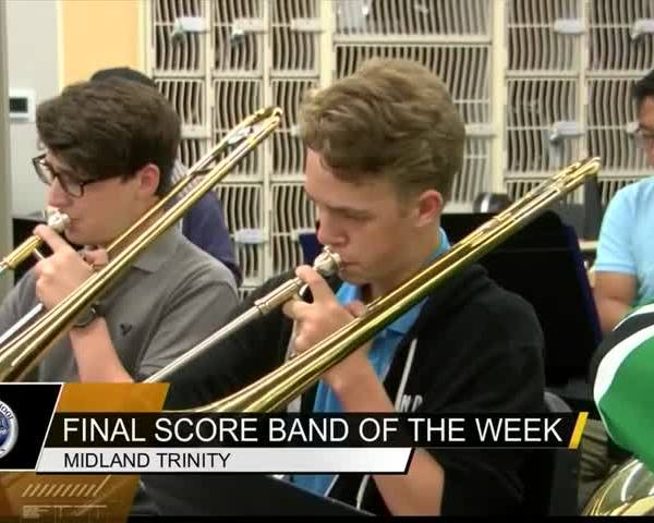 Final Score Band of the Week- Trinity Chargers_75901903