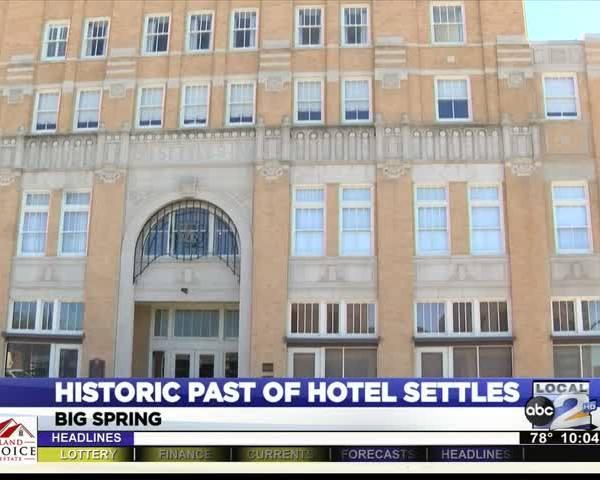 Hotel Settles Historic Past