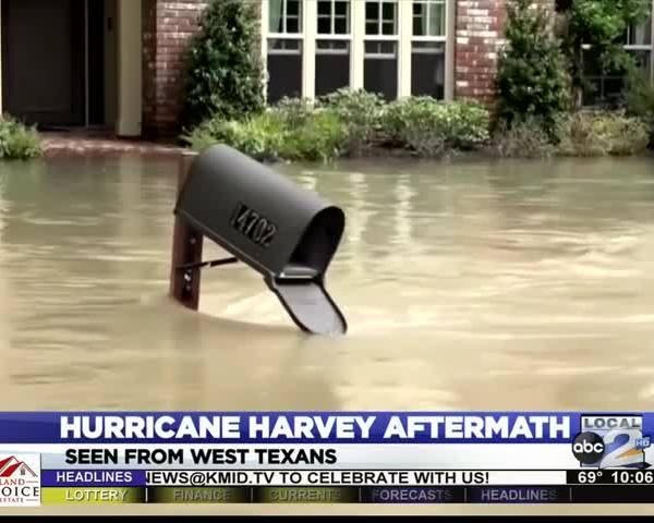 Hurricane Harvey Impacts the Basin