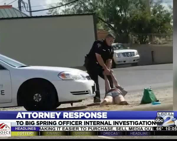 Attorney Responds to Big Spring Officer Investigatition
