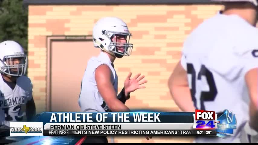 Athlete of the Week- Permian QB Steve Steen_40082365