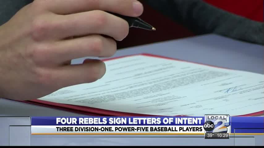 Lee Has Four Sign Letters of Intent_97346077