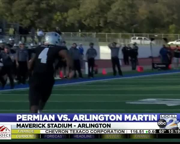 Permian-s Playoff Run Ends to Arlington Martin_75733138