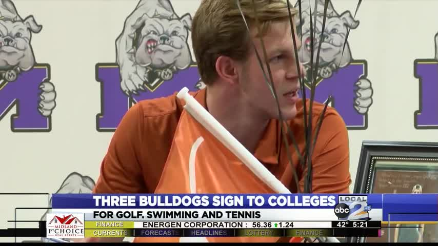 Three Midland High Bulldogs sign to Colleges_00413210