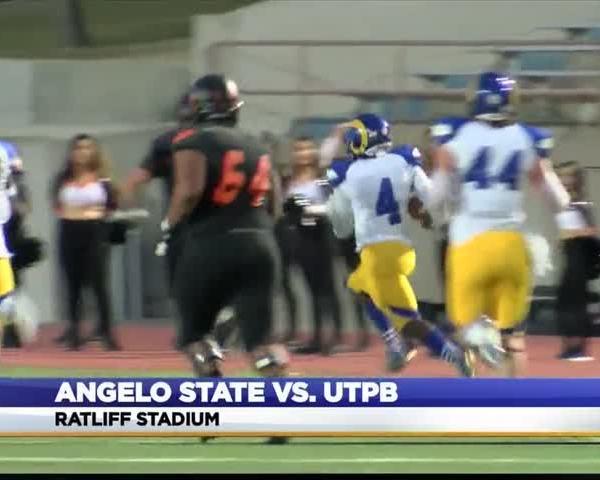 UTPB Falls to Angelo State to Finish Season_20578084