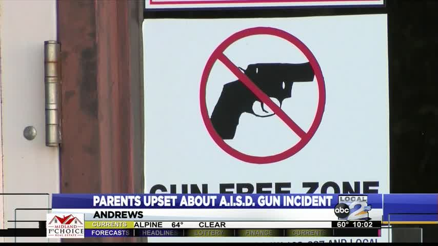 Andrews I.S.D. still not speaking about the gun on campus