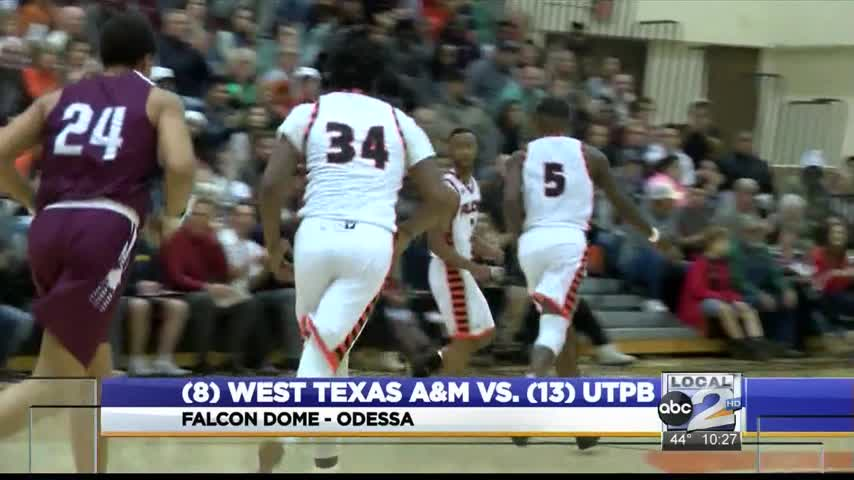 UTPB Men Pull Off Win over Texas A-M_26962833