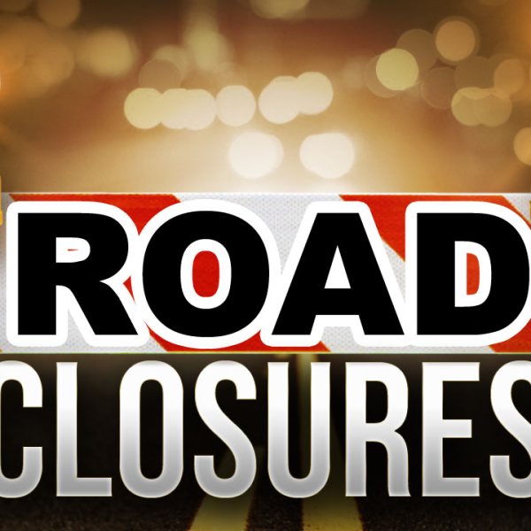 road closures graphic