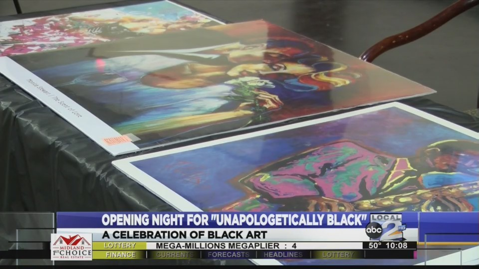 A celebration of black art