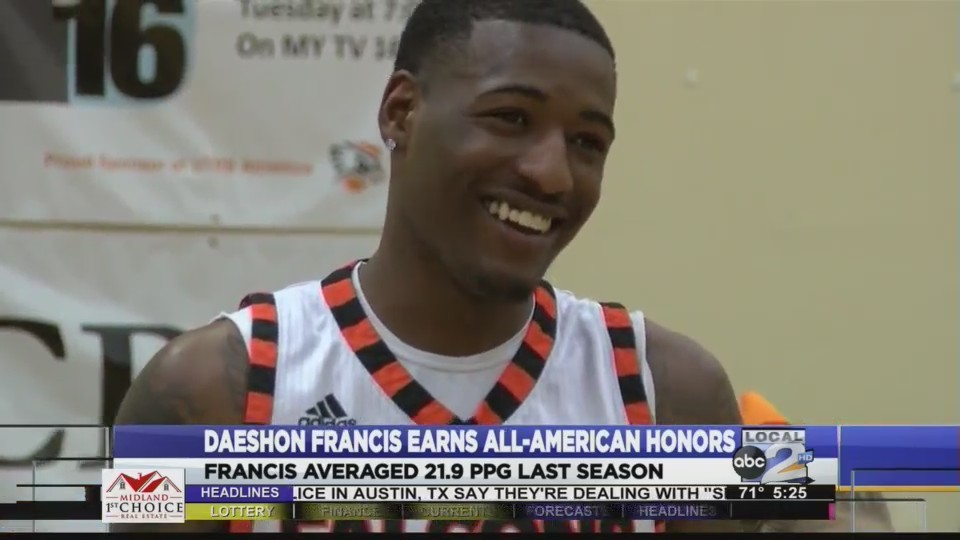 UTPB_S_Daeshon_Francis_Earns_All_America_0_20180319225320