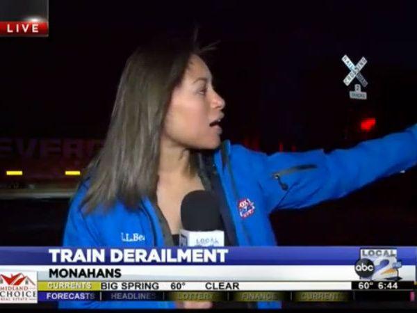Train Crash in Monahans