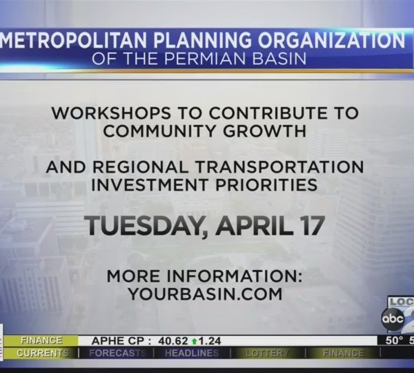 The Permian Basin MPO wants Your Input
