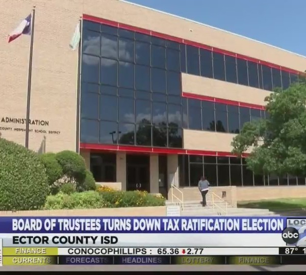 Board of Trustees turns down tax ratification Election
