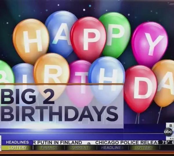 Big 2 Birthdays! July 16th, 2018