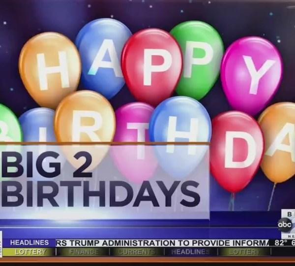Big 2 Birthdays! July 30th, 2018