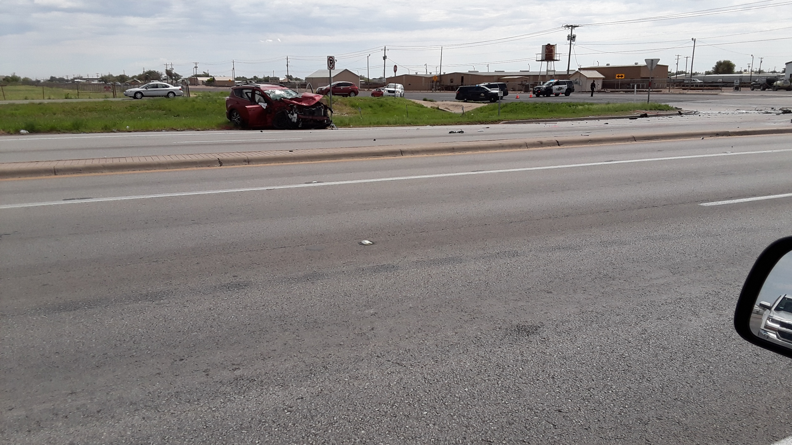 Fatal Two Vehicle Crash In North Odessa