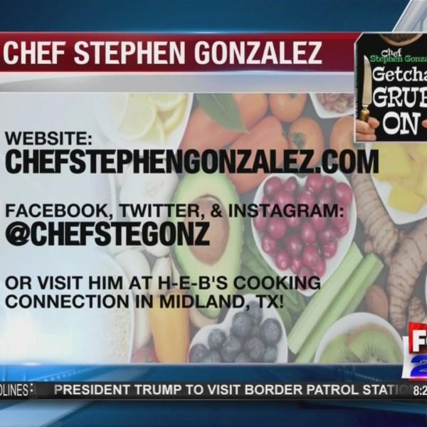 Chef Stephen Gonzalez on Fox 24 News A.M. Live