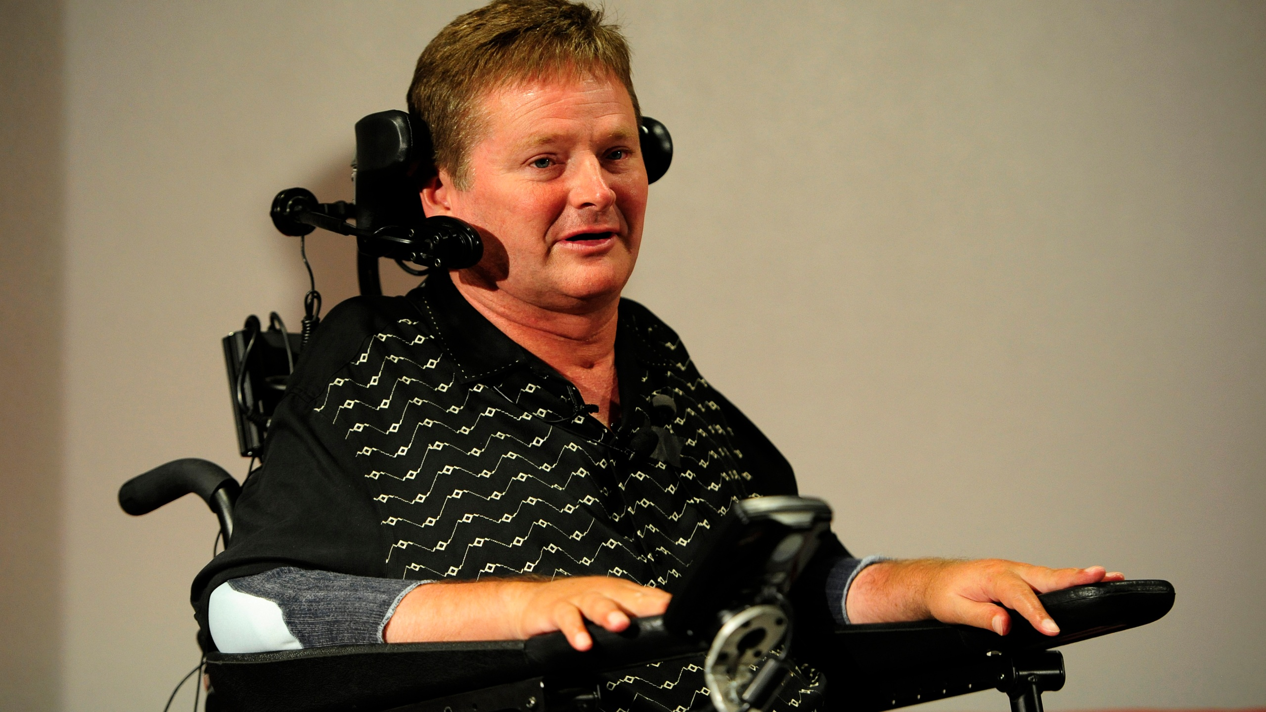Sam Schmidt is honored guest at Breakfast at the Brickyard
