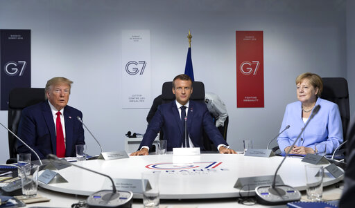 G7 Summit Biarritz in France