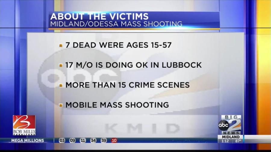 Odessa Mass Shooting: What we know | KVEO-TV