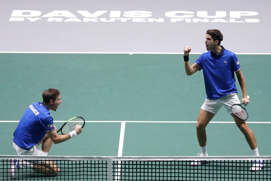 Mahut And Herbert Give France Win Over Japan In Davis Cup