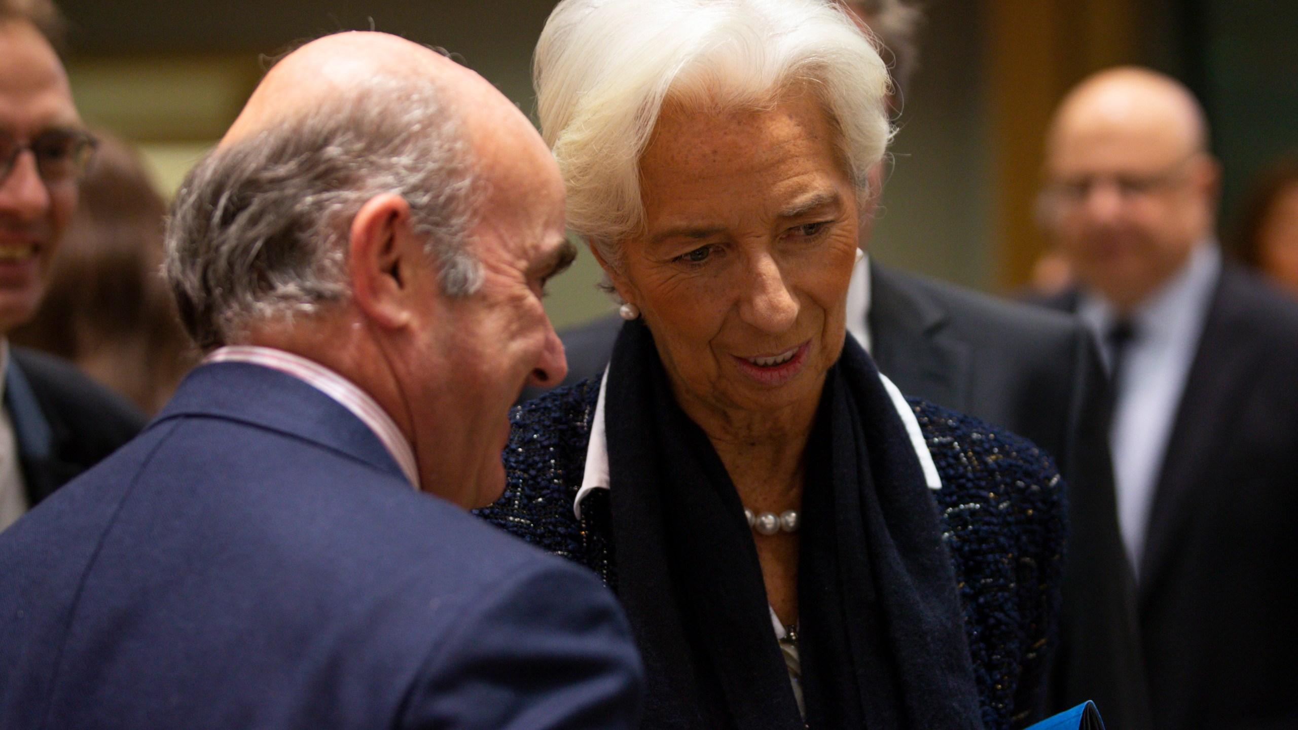 Christine Lagarde, Luis de Guindos