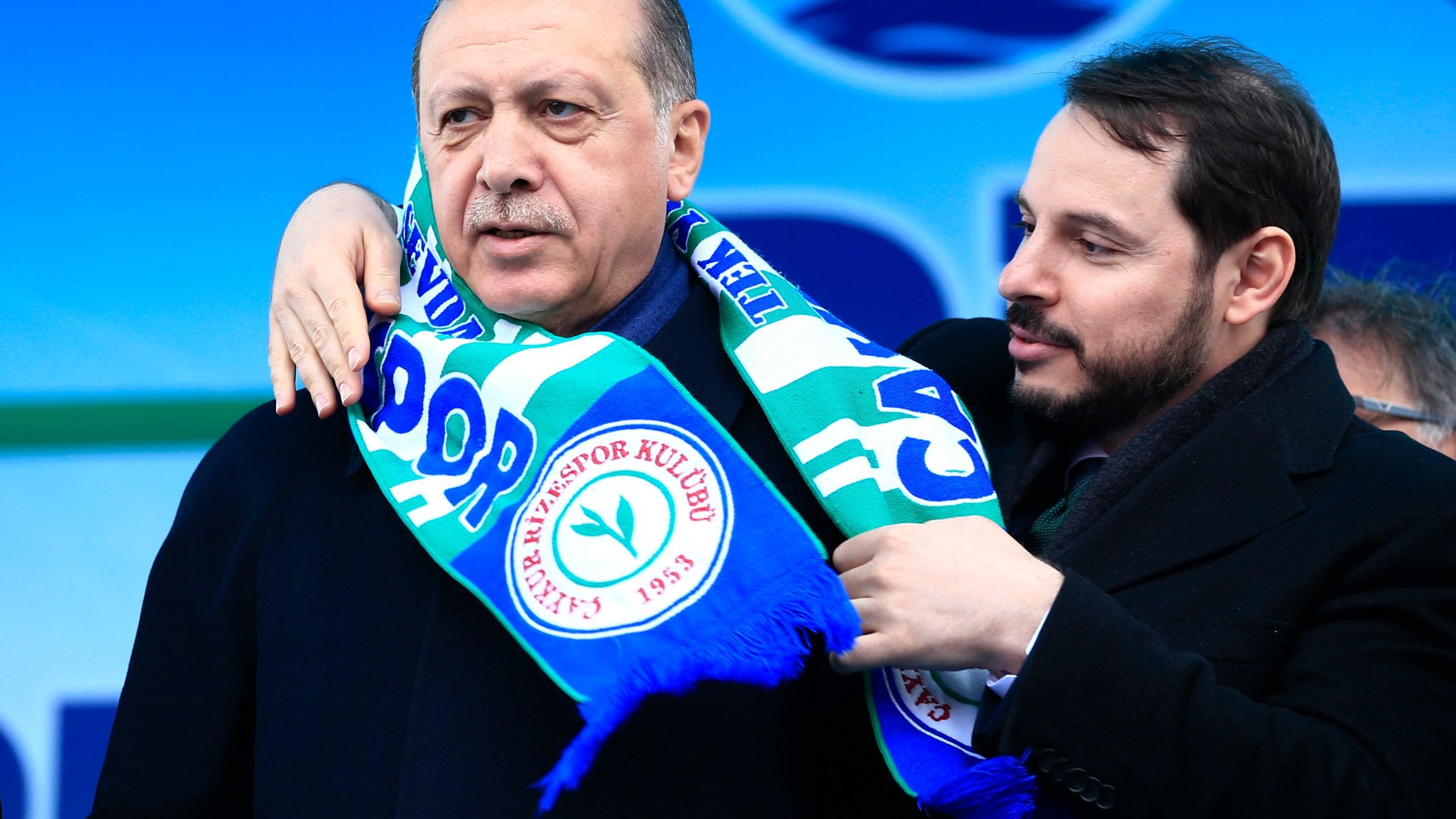 Recep Tayyip Erdogan, Berat Albayrak