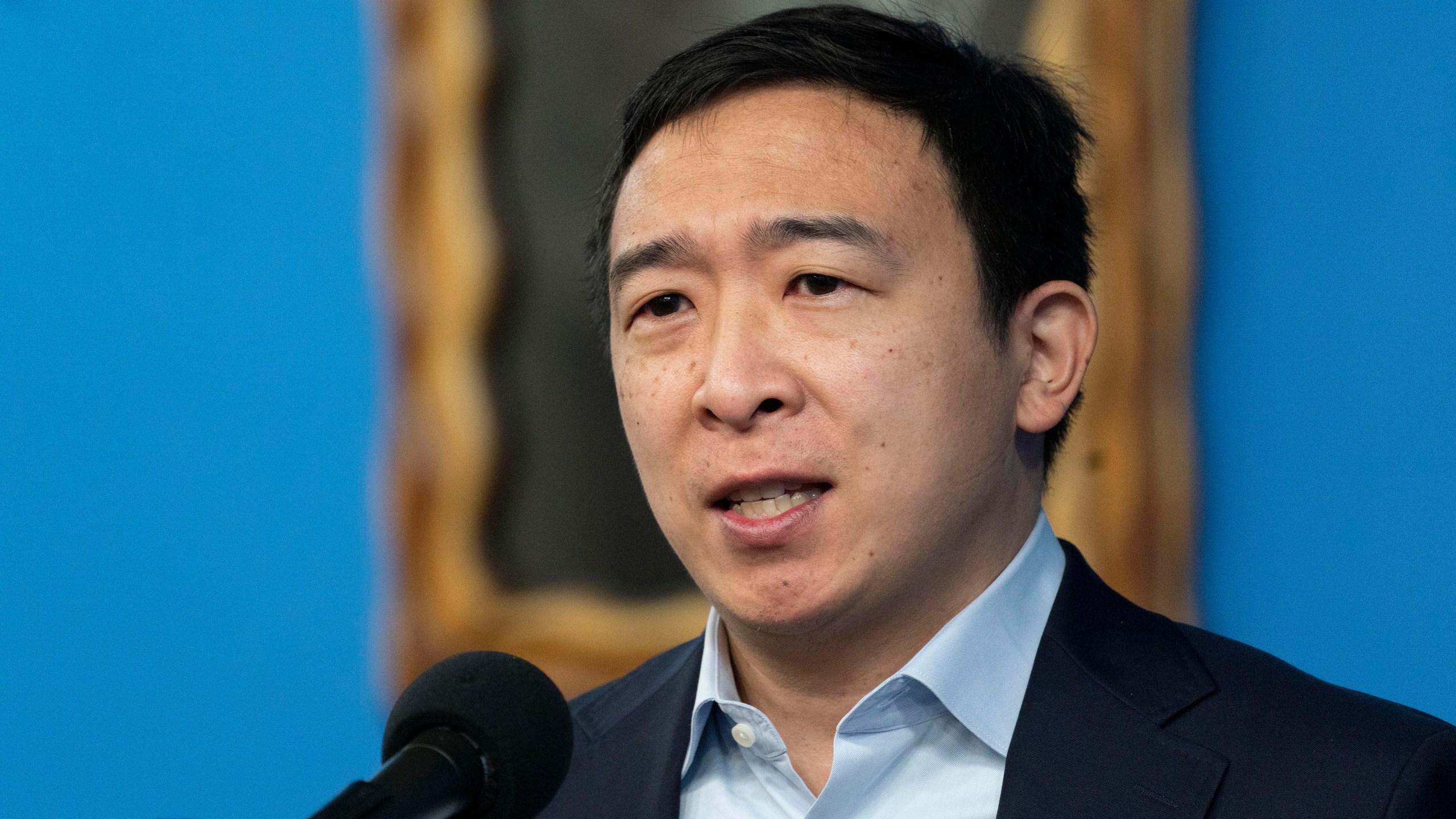 Election 2021 NYC Mayor Yang, Andrew Yang