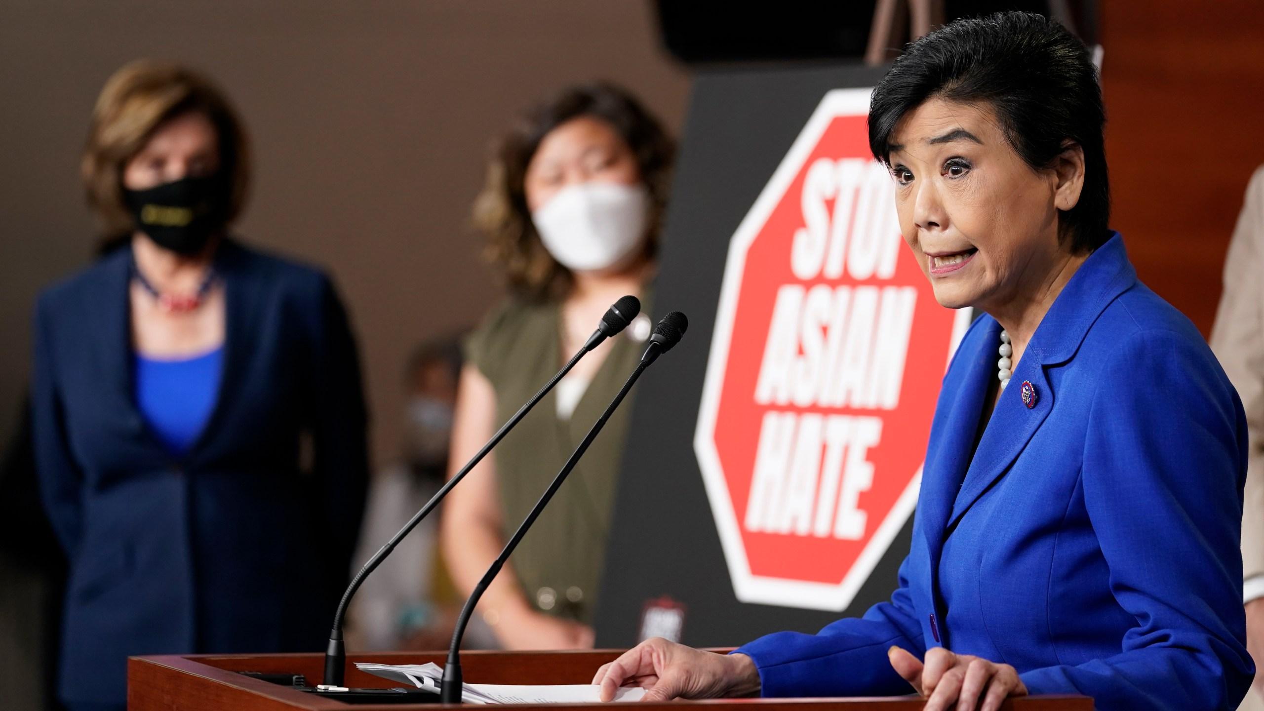 Nancy Pelosi, Judy Chu, Grace Meng