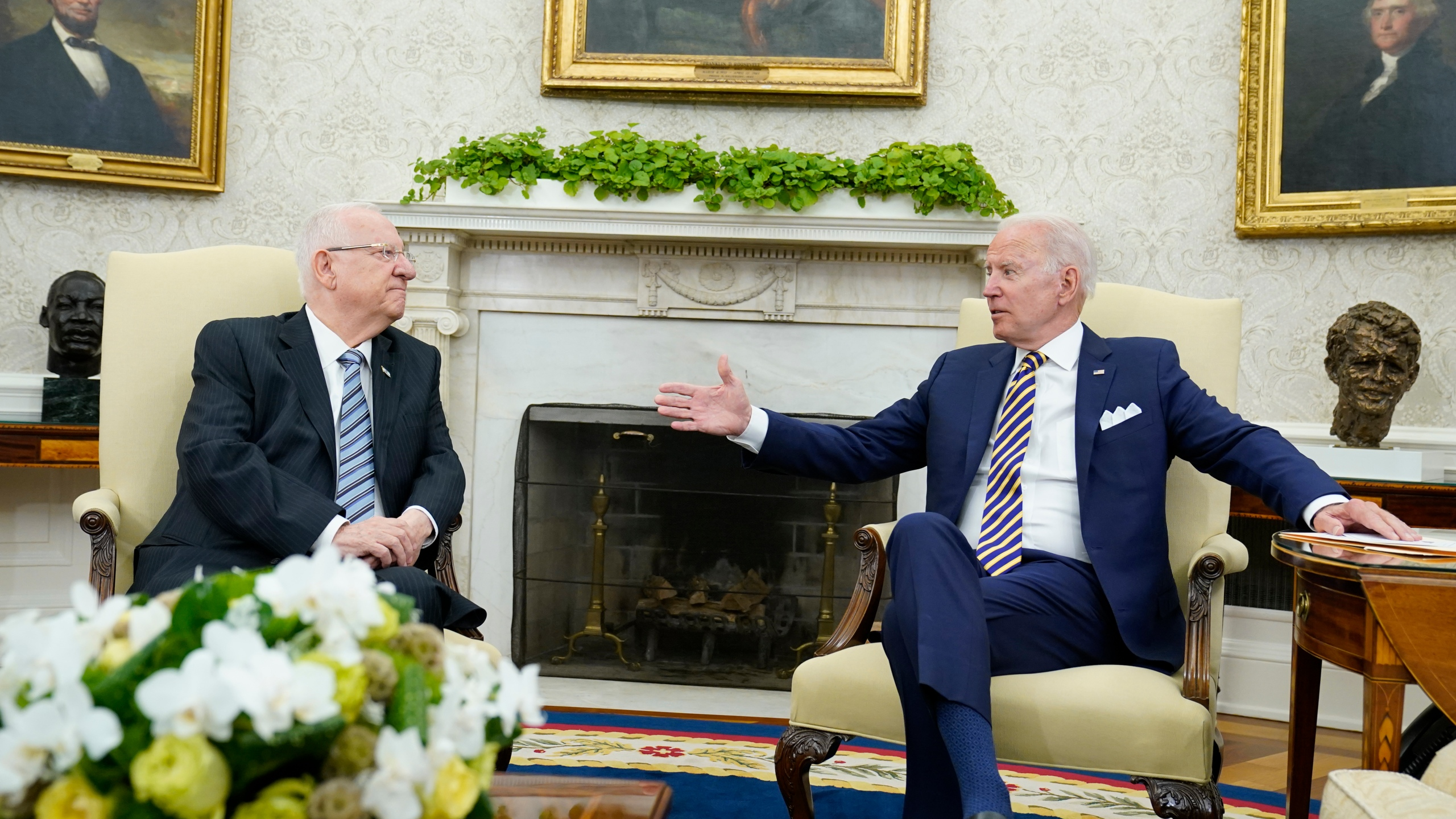 Joe Biden, Reuven Rivlin