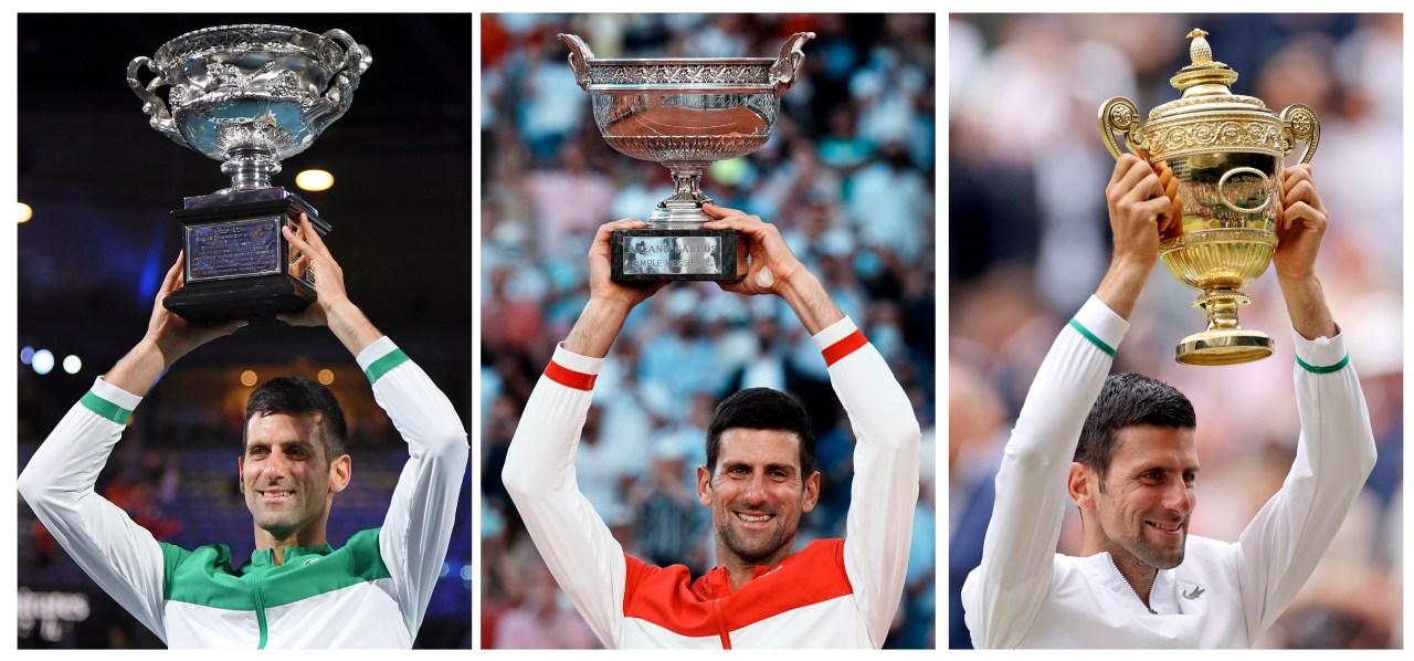 A look at each of Novak Djokovic's 2021 Grand Slam matches - KMID - Local 2 News